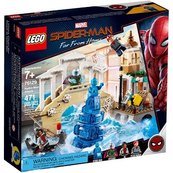 LEGO Super Heroes Sets: Marvel 76129 Hydro-Man Attack NEW