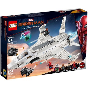 LEGO Super Heroes Sets: Marvel 76130 Stark Jet and Drone Attack NEW