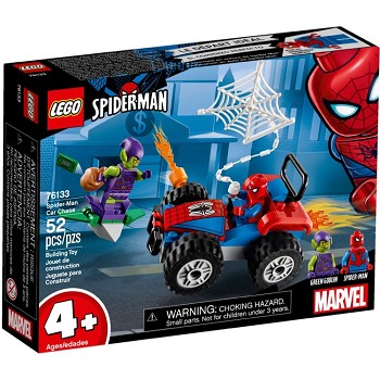 LEGO Super Heroes Sets: 76133 Marvel Spider-Man Car Chase NEW