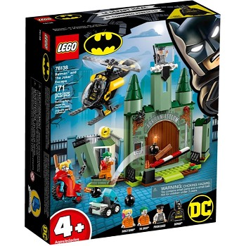 LEGO Super Heroes Sets: DC Comics 76138 Batman and The Joker Escape NEW
