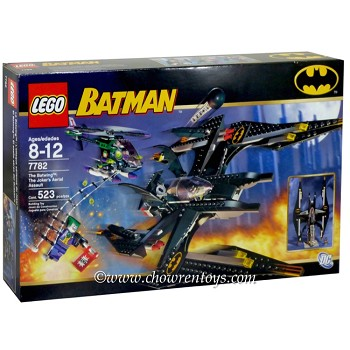 LEGO Super Heroes Sets: DC Comics 7782 The Batwing: The Joker's Aerial Assault NEW