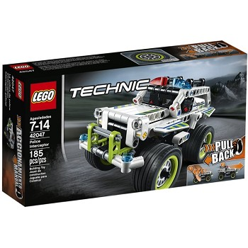 LEGO Technic Sets: 42047 Police Interceptor NEW