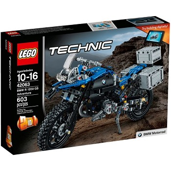 LEGO Technic Sets: 42063 BMW R 1200 GS Adventure NEW