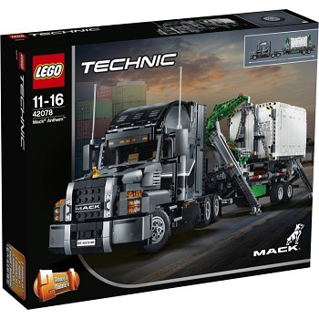 LEGO Technic Sets: 42078 Mack Anthem NEW *Rough Shape*