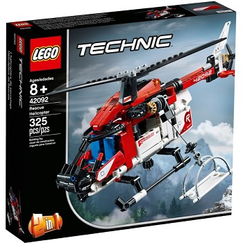 LEGO Technic Sets: 42092 Rescue Helicopter NEW