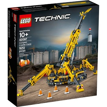 LEGO Technic Sets: 42097 Compact Crawler Crane NEW *Rough Shape*