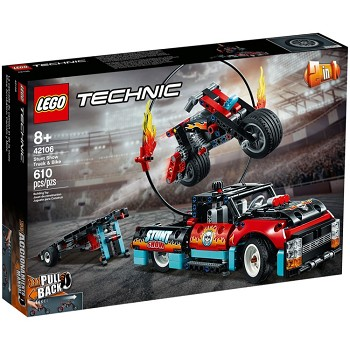 LEGO Technic Sets: 42106 Stunt Show Truck & Bike NEW