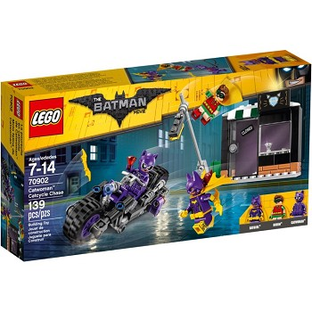 LEGO The LEGO Batman Movie Sets: 70902 Catwoman Catcycle Chase NEW