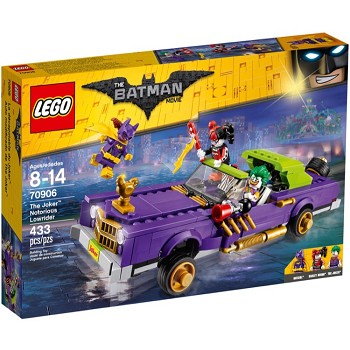LEGO The LEGO Batman Movie Sets: 70906 The Joker Notorious Lowrider NEW