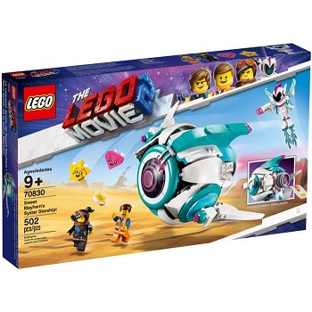 LEGO The LEGO Movie Sets: The LEGO Movie 2 70830 Sweet Mayhem's Systar Starship! NEW