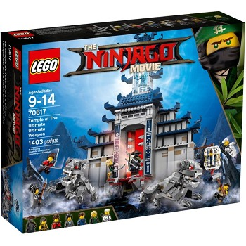 LEGO The LEGO Ninjago Movie Sets: 70617 Temple of the Ultimate Ultimate Weapon NEW