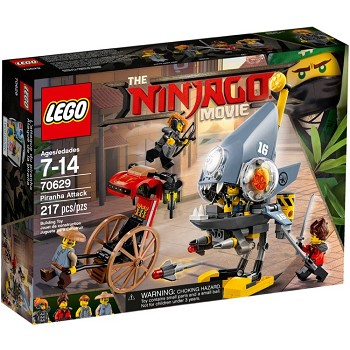 LEGO The LEGO Ninjago Movie Sets: 70629 Piranha Attack NEW