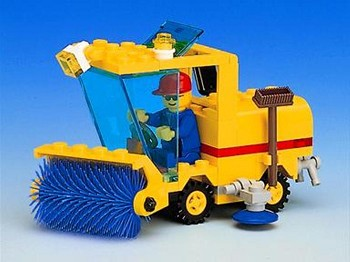 LEGO Town Sets: 6649 Street Sweeper NEW