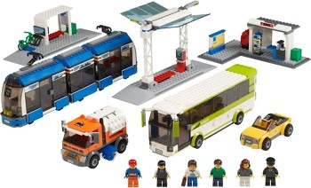 LEGO Town Sets: LEGO City 8404 Public Transport Station NEW
