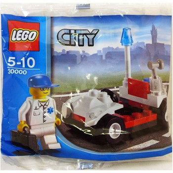 LEGO Town Sets: City 30000 Medic's Car NEW