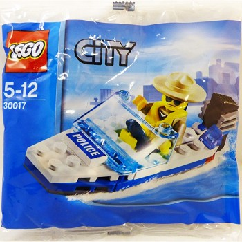 LEGO Town Sets: City 30017 Police Boat NEW