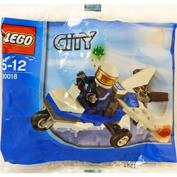 LEGO Town Sets: City 30018 Police Microlight NEW