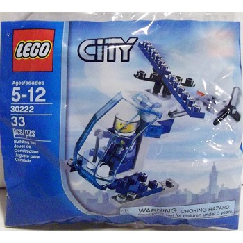 LEGO Town Sets: City 30222 Police Helicopter NEW