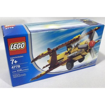LEGO Town Sets: LEGO Airline Promotional 4778 Biplane NEW