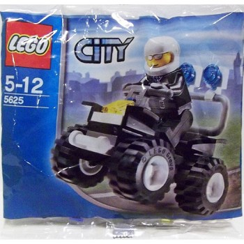 LEGO Town Sets: City 5625 Police 4x4 NEW