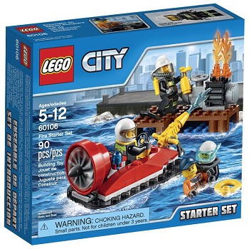 LEGO Town Sets: City 60106 Fire Starter Set NEW