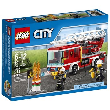LEGO Town Sets: City 60107 Fire Ladder Truck NEW *Damaged Box*
