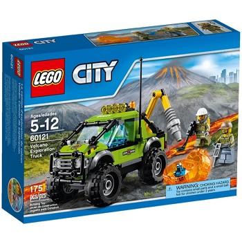 LEGO Town Sets: City 60121 Volcano Research Truck NEW