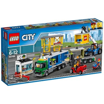LEGO Town Sets: City 60169 Cargo Terminal NEW