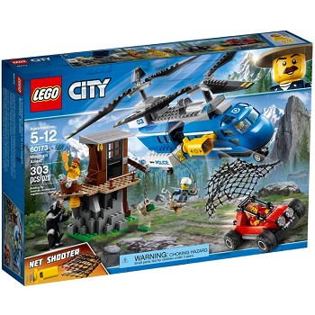 LEGO Town Sets: City 60173 Mountain Arrest NEW