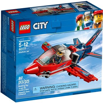 LEGO Town Sets: City 60177 Airshow Jet NEW