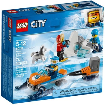 LEGO Town Sets: City 60191 Arctic Exploration Team NEW