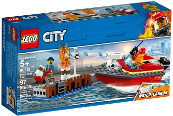 LEGO Town Sets: 60213 City Dock Side Fire NEW