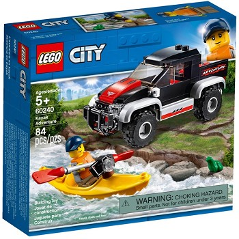 LEGO Town Sets: 60240 City Kayak Adventure NEW *Rough Shape*