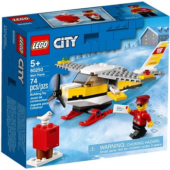LEGO Town Sets: City 60250 Mail Plane NEW