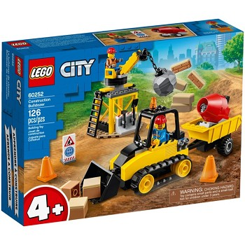 LEGO Town Sets: City 60252 Construction Bulldozer NEW