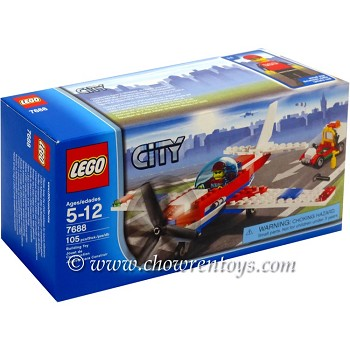 LEGO Town Sets: City 7688 Airline Promotional LEGO Sports Plane NEW