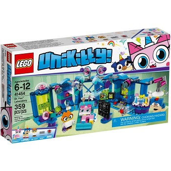 LEGO Unikitty Sets: 41454 Dr. Fox Laboratory NEW