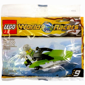 LEGO World Racers Sets: 30031 World Race Powerboat NEW
