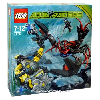 LEGO Aqua Raiders Sets: 7772 Lobster Strike NEW
