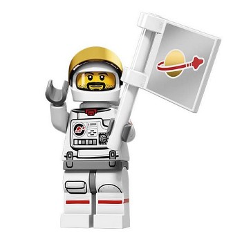 LEGO Collectible Minifigures: 71011 Series 15 Astronaut NEW