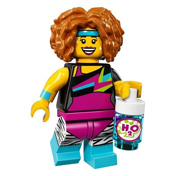 LEGO Collectible Minifigures: 71018 Series 17 Dance Instructor NEW