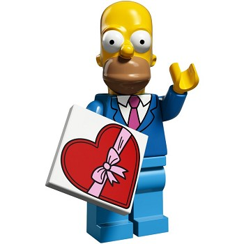 LEGO Collectible Minifigures: 71009 The Simpsons Series 2 Date Night Homer NEW