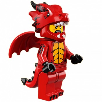 LEGO Collectible Minifigures: 71021 Series 18 Dragon Suit Guy NEW