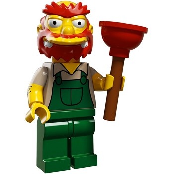 LEGO Collectible Minifigures: 71009 The Simpsons Series 2 Groundskeeper Willie NEW