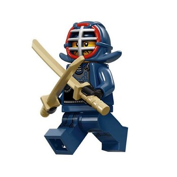LEGO Collectible Minifigures: 71011 Series 15 Kendo Fighter NEW