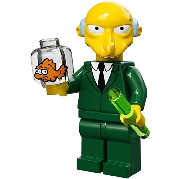 LEGO Collectible Minifigures: 71005 The Simpsons Series Mr. Burns NEW