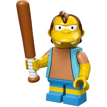 LEGO Collectible Minifigures: 71005 The Simpsons Series Nelson Muntz NEW