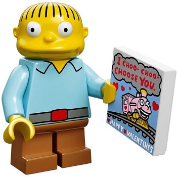 LEGO Collectible Minifigures: 71005 The Simpsons Series Ralph Wiggum NEW