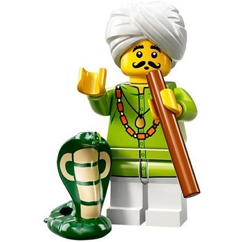 LEGO Collectible Minifigures: 71008 Series 13 Snake Charmer NEW