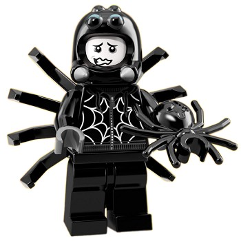 LEGO Collectible Minifigures: 71021 Series 18 Spider Suit Boy NEW